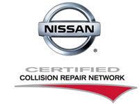 nissan certified autobody shop